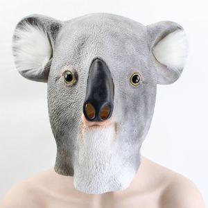 Hanzi_masks Latex Tier Party Maske Koala Halloween Masken Party Helm Cosplay Requisiten