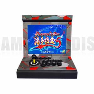 새로운 도착 15 인치 LCD 소형 가족 동전은 1 개의 게임 PCB에있는 1388/960를 가진 아케이드 게임 기계를 운영했다 정상적인 조이스틱 잠그는 단추