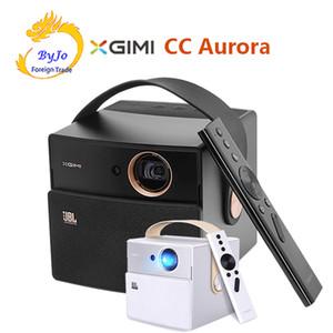 الأصلي xgimi cc أورورا dlp البسيطة العارض الروبوت wifi مصراع 3d دعم hd الفيديو مع بطارية فيديو العارض المسرح المنزلي