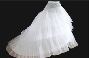 Dressv 저렴한 웨딩 Petticoat Jupon 법원 기차 Crinoline 슬립 Underskirt을위한 A 라인 웨딩 드레스 3 레이어 웨딩 액세서리