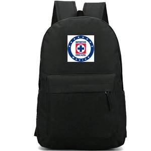 Cruz Azul sırt çantası FC rozeti günü paketi Meksika okul çantası Futbol kulübü paketi sırt çantası Futbol çantası Spor çantası Dış mekan çantası