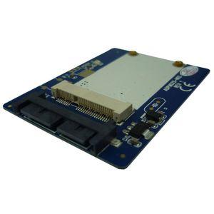 1.8 polegada Micro SATA para mSATA adaptador mSATA para 16pin Micro SATA cartão Conversor