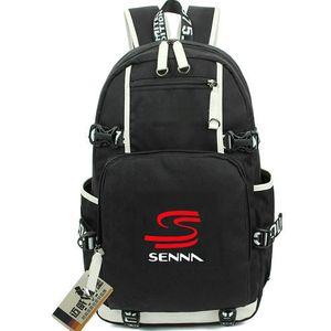 Ayrton Senna da Silva mochila melhor piloto daypack Campeão mochila mochila Pure Qualidade costal Esporte bloco do dia ao ar livre