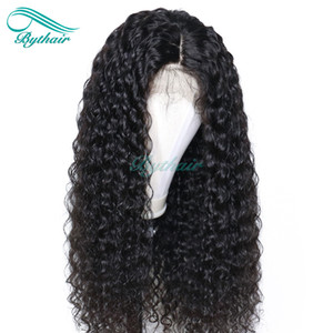 Bythair Lace Front Human Hair Wig Deep Curl Full Lace Wig Curly Pre-plucked Hairline Malaysian Virgin Hair 150% Density With Baby Hair