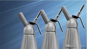 Krem Whipper Alüminyum 1000 ml Süt Frother Whippers Köpük Maker Mutfak Pişirme Kek Aracı Ekonomik Kolay Taşıma Küçük 85sj Z