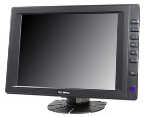 """Moniteur d'écran tactile de 8 """"800x600 TFT LCD avec l'entrée audio visuelle de HDMI VGA, appareil-photo d'inverse d'AV d'abord pour l'affichage de PC de pc-itx de PC industriel"""
