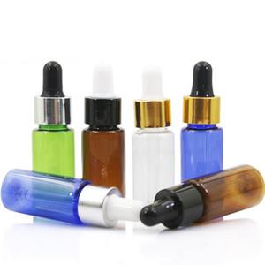 15ml PET Bottle With Pure Dropper Perfume Sample Tubes For Essential Oil Liquid Reagent Pipette Refillable Bottle Empty c787