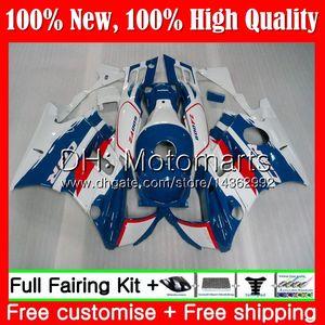 Honda CBR için Vücut 600F2 93 FS CBR600 F2 91 92 93 94 AAMT16 CBR600FS CBR 600 F2 CBR600F2 1991 1992 1993 1994 Mavi Beyaz Peraz