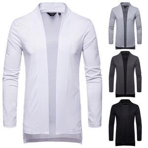 Хип-хоп мужской кардиган мужчины свитер толстовки пальто кардиган свитера мужчины дизайнер одежды куртки новый стиль мода осень рубашки весна