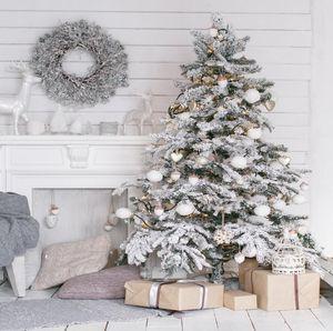 Comercio al por mayor 8x8ft sin fisuras telón de fondo de la Navidad Recién Nacido telones de fondo familia decoraciones de la fiesta de Navidad foto telón de fondo XT-6241