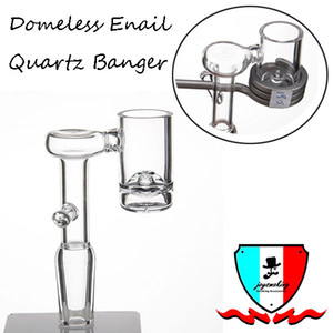 Enail Kuvars Banger fit 20mm bobin 10mm 14mm 19mm erkek / kadın için cilalı ortak set mini kaynar bardak dab rigs