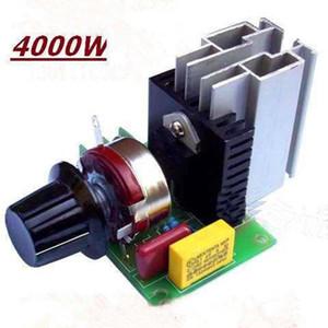 Thyristor 4000W High Power Voltage Regulator 220V AC elektronischer Spannungs-Regler 40A einstellbare Regler Thermostat Dimmer