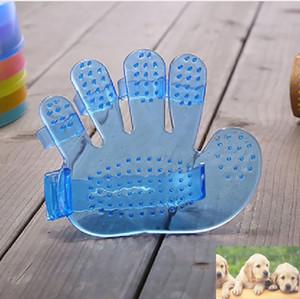 Pet Köpek Bakım Tarak Fırça Kedi Gösterisi Banyo Masaj Fırçası Beş Parmak Eldiven Şekilli Temiz Fırçalar Pet Malzemeleri Aksesuarları HH7-1255