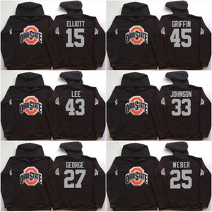 Chandails à manches courtes Ohio State pour hommes, Ohio 97 Joey Bosa 15 Elliott 12 C.JONES 16 BARRETT 1 B.Miller Jerseys Hoodies Sweats