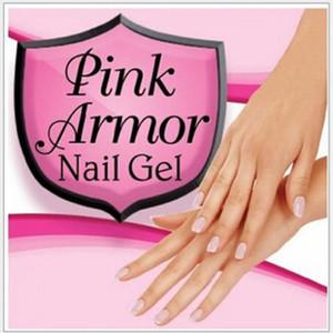 Pink Armour Nail Gel Manicure Pedicure Vernice lucida lucida lacca lucida