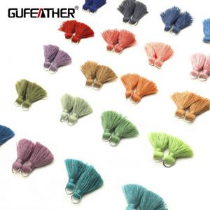 GUFEATHER L61 / 2cmTassel / acessórios de jóias / peças de acessórios / diy / componentes de descobertas de jóias / descobertas de jóias / enfeites