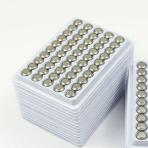 2018 Hot New Super quality AG13 LR44 A76 1.5V Pilas alcalinas de botón 10000pcs / Lot