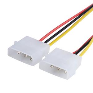 2 IDE Dual 4 4pin IDE Macho para 6 Pinos 6 pinos Fêmea PCI-E Y IDE Adaptador de Cabo De Alimentação conector para placas de vídeo 4 P PARA 6 P 1X2 Splitter