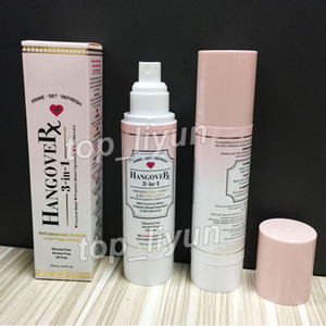 Best Hangover 3 in 1 Primer spray setting coconut water Makeup Replenishing primer setting spray 120ml Foundation Primer DHL Free Shipping