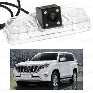 Nuovo CCD di retromarcia di retromarcia per telecamera posteriore da 4 LED per Toyota Land Cruiser 200 07-15