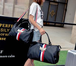 2018. Nylon. Grande. Homens Viajando saco. Alta capacidade. Bolsa. Mala de viagem. Saco de mulher de moda casual. Abelhas Corpo Cruzado. Bolsas de ombro.Totes.02