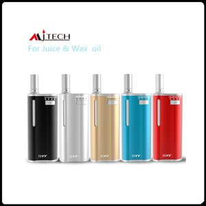 Kit Mjtech 5S VV original 2in1 Starter Kit Préchauffer la batterie 650mah Cartouches d'huile de cire Variable Tension Vape Mod