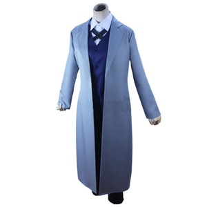 Chiens Chuya Nakahara Anime Bungou Stray Cosplay 2018 Port Mafia Nakahara Cosplay Bungou Stray Costume Hommes Costume Chiens Chuya Rewoc
