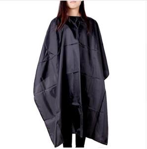 Mejor oferta de buena calidad salón de corte vestido de peluquería Cabo de corte Cabo peluquería tela impermeable delantal 2018