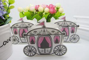 Royal Carriage Design Caixa De Doces Fada Europeia Romântico Doces Caixas De Presente Caso Suprimentos De Casamento Favor de Partido