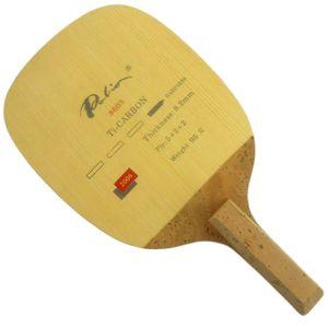 باليو 8603 Ti-Carbon Table Tennis Blade (Penhold Japanese) for PingPong Racket
