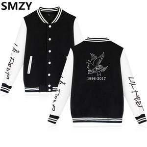SMZY Lil Peep Baseball Jacke Hoodies Sweatshirt Tops Pullover Coon Berühmte Rap Sänger Sweatshirts Männer Beliebte Hip Hop Kleidung