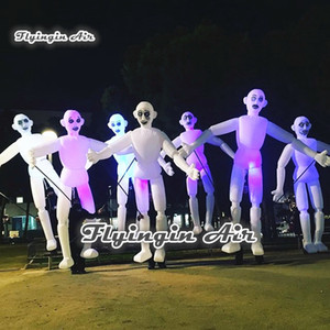 Adulte Wearable gonflable Alien Costume 3.5m Walking Blow Up costumes Alien Marionette Puppet Parade Voir