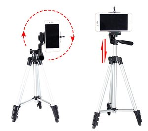 Aluminum alloy 106CM four section three foot tripod fishing lamp camera bracket live support can be customized logo LLFA
