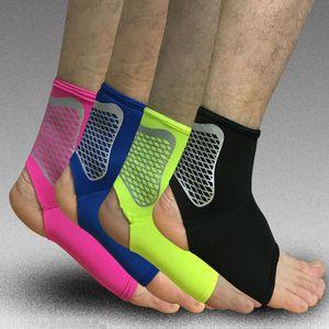 1 Çift Spor Ayak Bileği Desteği Elastik Yüksek Koru Spor Ayak Bileği Ekipmanı Emniyet Koşu Basketbol Ayak Bileği Brace Destek Ücretsiz Kargo