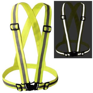 Cintura di sicurezza riflettente esterna Vest Gear Stripe Night Running Cintura di sicurezza riflettente cintura WS-7