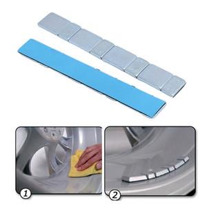 1pcs 보편적 인 자동차 트럭 접착제 바퀴 타이어 균형 가중치 바퀴 타이어 균형을 잡는 막대기 스티커 Auto Accessories 60g