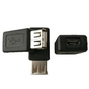 고속 USB 여성 전송 마이크로 USB 여성 어댑터 5P 앤드류스 휴대 전화 어머니 USB 변환기 머리에 모바일 전원