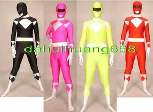 New 4 Cor Lycra Spandex Super Hero Suit Macacão Trajes Unisex Superhero Trajes Cosplay Outfit Unisex Superhero Body Suit Traje DH139
