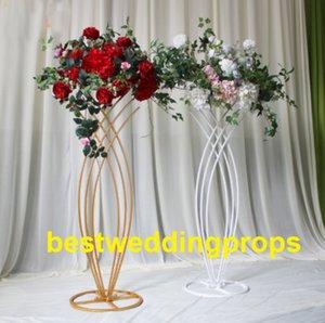 Güzel Gümüş Çiçek Düğün ayağı Için Standı / Lider Yol / Düğün Dekorasyon Centerpieces Için Walkway best0187