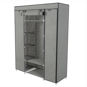 o vestuário portátil do organizador do armazenamento do armário da 5-camada portátil veste a cremalheira com prateleiras
