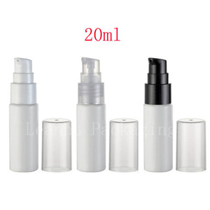 20ml White Empty Cosmetic Container With Lotion Cream Pump 20g Treatment Bottles Travel Size Makeup Setting Pump
