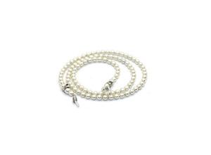 corda occhiali occhiali da lettura di bloccaggio del cavo Catena bianco perla in rilievo Sunglass