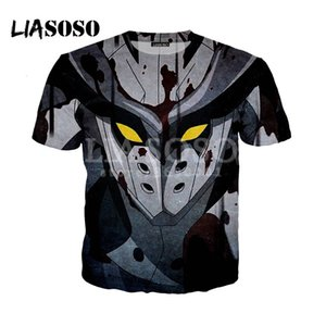 LIASOSO 2018 3D Print Women Men Akame Ga Kill Bulat Logo Tshirt Summer T-shirt Hip Hop Pullover Harajuku Short Sleeve X0573