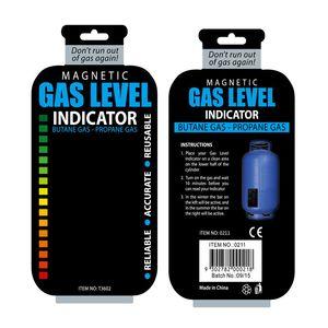 가스 레벨 표시기 프로판 부탄 LPG 연료 가스 탱크 레벨 표시기 자기 게이지 캐러밴 병 온도 측정 스틱