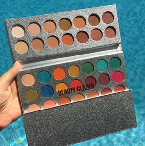 Nave DHL veloce gratis! Makeup Beauty Glazed 63 Colori Eyeshadow Palette Gorgeous Me Eyeshadow Tray Eye Cosmetics