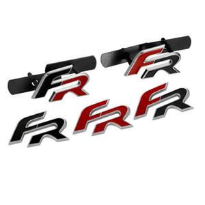 FR Metall Auto Aufkleber Emblem Abzeichen für Seat Leon FR + Cupra Ibiza Altea Exeo Formula Racing Autozubehör Auto-Styling