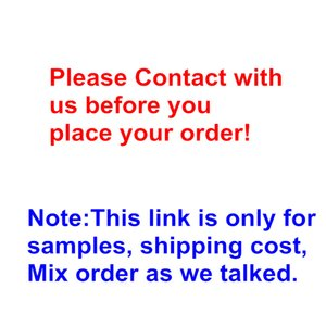 Only for Extra Shipping Cost Sample Fashion Accessories Mix Order Link High Quality Products for New Buyers or Old Buyer