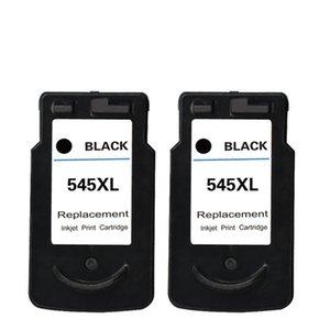 2PK PG545 Siyah Mürekkep Kartuşları Için Yedek Canon Pixma MG2400 MG2450 MG2455 G2555S MG2900 MG3053 MX490 MX494 Yazıcılar Mürekkep Püskürtmeli