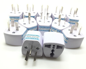 Multi-plug Adapter Plugs Toeing Australian Rules Australian Standard Adapter Plug Travel Adaptor Plug Three Flat National Standard 100PCS