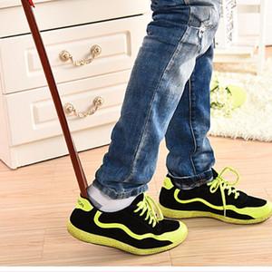 55 cm Maun zanaat Ahşap Ayakkabı Boynuz Profesyonel Ahşap Uzun Sap Ayakkabı Boynuz Kaldırıcı Shoehorn P15